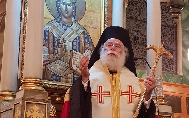 Πατριάρχης Αλεξανδρείας Θεόδωρος: «Μέσα από το αίμα, τα καρφιά και τον Γολγοθά, η Ελλάδα μας ξέρει να ανασταίνεται…»