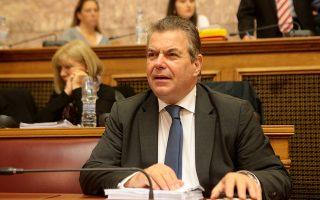 Ο υφυπουργός Εργασίας για θέματα Κοινωνικής Ασφάλισης Αναστάσιος Πετρόπουλος συμμετέχει σε συνεδρίαση επιτροπής της Βουλής, Παρασκευή 7 Δεκεμβρίου 2018. Συνεδριάζει η διαρκής επιτροπή κοινωνικών υποθέσεων και η διαρκής επιτροπή οικονομικών υποθέσεων της Βουλής με θέμα ημερήσιας διάταξης την συνέχιση της επεξεργασίας και εξέτασης του σχεδίου νόμου του Υπουργείου Εργασίας, Κοινωνικής Ασφάλισης και Κοινωνικής Αλληλεγγύης και του Υπουργείου Οικονομικών «Κατάργηση των διατάξεων περί μείωσης των συντάξεων, ενσωμάτωση στην Ελληνική Νομοθεσία της Οδηγίας 2016/97/ΕΕ του Ευρωπαϊκού Κοινοβουλίου και του Συμβουλίου της 20ης Ιανουαρίου 2016 σχετικά με τη διανομή ασφαλιστικών προϊόντων και άλλες διατάξεις».  ΑΠΕ-ΜΠΕ/ΑΠΕ-ΜΠΕ/Παντελής Σαίτας