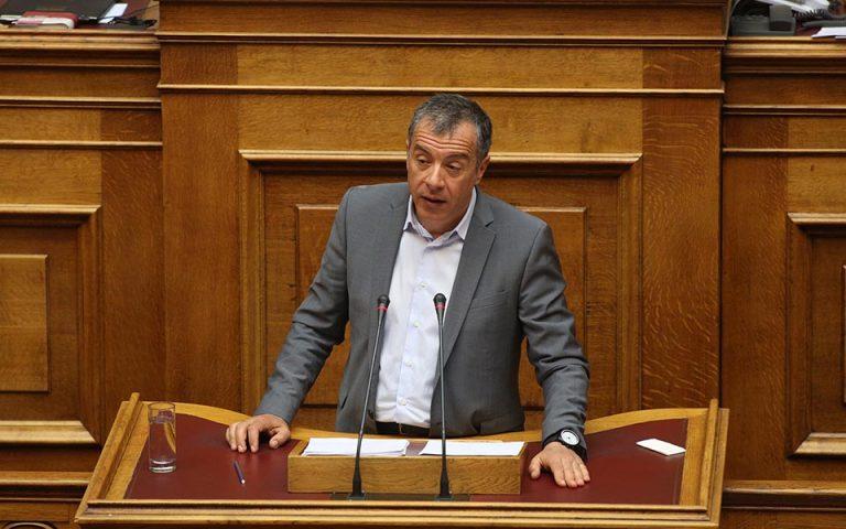 Στ. Θεοδωράκης: Τα Εξάρχεια πρέπει να ξαναγίνουν γειτονιά