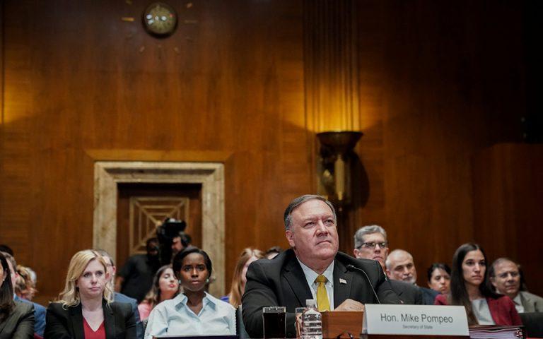 Μάικ Πομπέο: Ο Τραμπ θα συνεχίσει την άσκηση πίεσης στο Ιράν