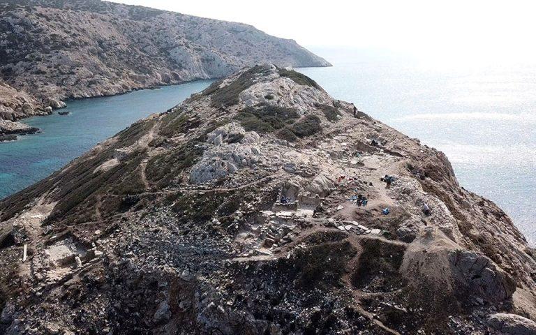 Σημαντικός Πρωτοκυκλαδικός οικισμός αποκαλύφθηκε στην Κέρο (φωτογραφίες)