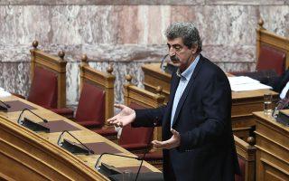 H πρόταση μομφής κατά του Π. Πολάκη δεν θα συζητηθεί πρακτικά, καθώς ο πρωθυπουργός θα μετατρέψει τη συζήτηση σε ψήφο εμπιστοσύνης.