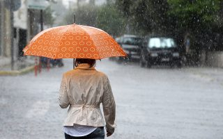 Βροχές και καταιγίδες αναμένονται το Σάββατο στο Ιόνιο, στη Δυτική Πελοπόννησο και σταδιακά στη Δυτική Στερεά και στην Ηπειρο.