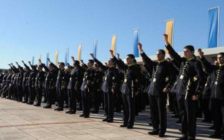 Οι 819 θέσεις στις στρατιωτικές σχολές