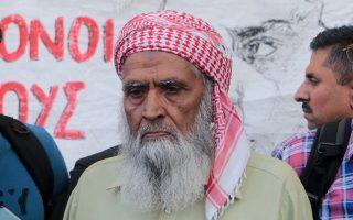 Ο πατέρας του δολοφονημένου Σαχζάτ Λουκμάν, Χαντίμ Χουσεΐν.