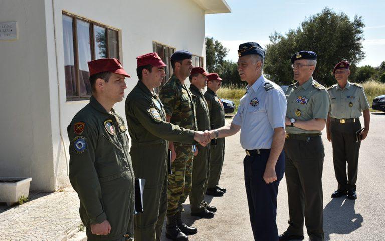 Ο Αρχηγός ΓΕΕΘΑ σε Μονάδες των Ενόπλων Δυνάμεων
