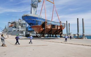 Το πλοίο που βυθίστηκε μαζί με εκατοντάδες ψυχές στη Λαμπεντούζα.