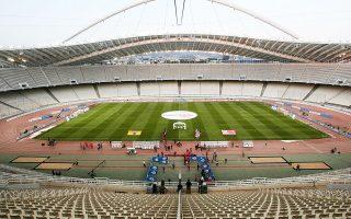 Αυτή θα είναι η εικόνα του ΟΑΚΑ στη «γιορτή» του ελληνικού ποδοσφαίρου.