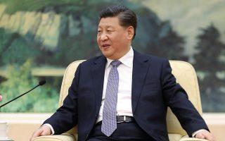Ο Κινέζος πρόεδρος Σι Τζινπίνγκ.