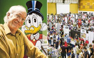 Ο βετεράνος των κόμικς της Ντίσνεϊ Nτον Ρόσα είναι επίσημος προσκεκλημένος του πέμπτου φεστιβάλ The Comic Con στη Θεσσαλονίκη.