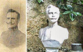 Ο υπολοχαγός Σπυρίδων Φραγκόπουλος έπεσε μαχόμενος, σε ηλικία 29 ετών, στα Λειβάδια Γιαννιτσών, όταν το 30μελές σώμα στο οποίο ήταν υπαρχηγός –με αρχηγό τον λοχαγό Γεώργιο Μωραΐτη– αιφνιδιάστηκε από τάγμα του τουρκικού στρατού.