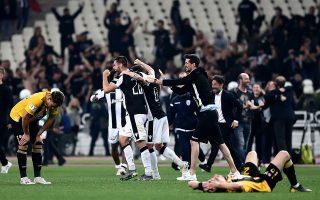 Ο ΠΑΟΚ «σφράγισε» με το πρώτο νταμπλ της ιστορίας του μια χρονιά πλήρους κυριαρχίας στο ελληνικό ποδόσφαιρο.
