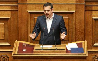 Ο Αλέξης Τσίπρας σημείωσε πως από τη στιγμή που οι εκλογές της 26ης Μαΐου είναι οι πρώτες έπειτα από σχεδόν τέσσερα χρόνια, είναι «μια ευκαιρία να αποδείξουν την απάτη» ενός μιντιακού συστήματος που για πρώτη φορά «στηρίζει ένα κόμμα».