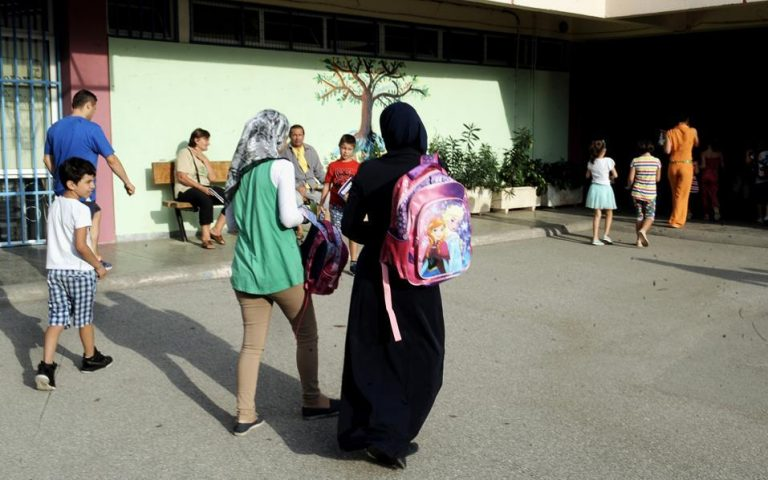 UNESCO: Σχεδόν 12.500 προσφυγόπουλα στα ελληνικά σχολεία