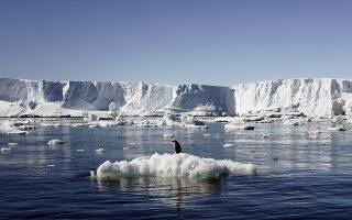 Το στρώμα πάγου της Δυτικής Ανταρκτικής παρέμενε σταθερό το 1992. Σήμερα, αντιθέτως, το ένα τέταρτο της έκτασής του παρουσιάζει λέπτυνση.