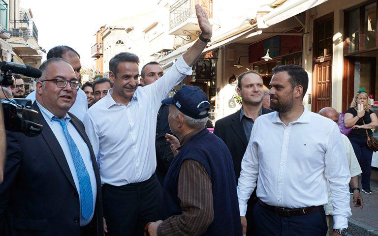 Κυρ. Μητσοτάκης σε κουρείο: «Δεν πιστεύω να τα παίρνετε ΣΥΡΙΖΑ» (βίντεο)