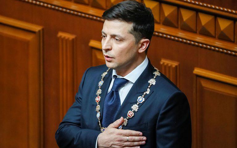 Ουκρανία: Πρόωρες εκλογές ανακήρυξε ο Ζελένσκι – Παραιτήθηκε ο πρωθυπουργός