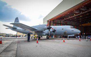 Το P-3B Orion θα πραγματοποιεί επιχειρήσεις επιτήρησης στο Αιγαίο.