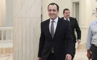 Ο Κύπριος υπουργός Εξωτερικών Νίκος Χριστοδουλίδης.