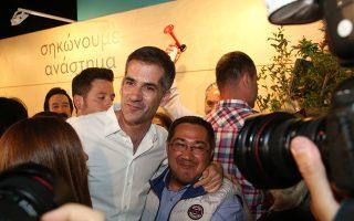 Στον Δήμο Aθηναίων την πρώτη θέση με ποσοστό 42,74% κατέλαβε ο Κώστας Μπακογιάννης.