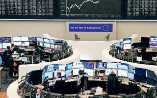 Ο δείκτης Xetra DAX της Φρανκφούρτης (φωτ.) έκλεισε με μικρή άνοδο 0,5%, όπως και ο CAC 40 του Παρισιού έκλεισε με ελαφρά κέρδη 0,37%. Ομοίως ο πανευρωπαϊκός δείκτης FTSE Eurotop 100 έκλεισε με οριακή άνοδο 0,25%. Μοναδική εξαίρεση αποτέλεσε χθες το χρηματιστήριο του Μιλάνου, που σημείωσε οριακές απώλειες 0,06%, καθώς τα αποτελέσματα των ευρωεκλογών ανέδειξαν πρώτη δύναμη στην Ιταλία την ακροδεξιά Λέγκα του Ματέο Σαλβίνι.