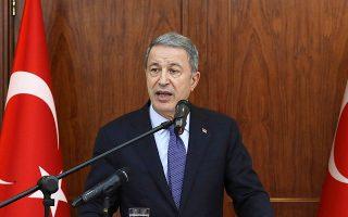 Σχετικά με τις συναντήσεις των επιτροπών στην Αθήνα για τα ΜΟΕ, ο Χουλουσί Ακάρ εξέφρασε την ελπίδα του «να επωφεληθούν όλες οι πλευρές», τονίζοντας ωστόσο πως «διαμηνύουμε προς τους συνομιλητές μας με τον έναν ή τον άλλον τρόπο ότι δεν θα επιτρέψουμε τετελεσμένα».