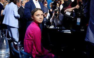 Η δεκαεξάχρονη Σουηδέζα ακτιβίστρια κατά της κλιματικής αλλαγής Γκρέτα Τούνμπεργκ ένωσε τις δυνάμεις της με τον αστέρα του Χόλιγουντ και πολιτικό Αρνολντ Σβαρτσενέγκερ.