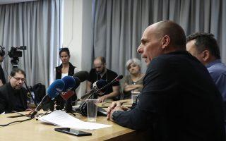 Ο Γ. Βαρουφάκης ανακοίνωσε χθες, σε συνέντευξη Τύπου, τη συμμετοχή του ΜέΡΑ25 στις εκλογές με συνδυασμούς σε όλη τη χώρα.