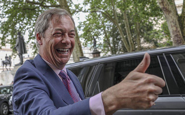 Βρετανία: Το Κόμμα Brexit επισήμως ο μεγάλος νικητής των ευρωεκλογών με 31,6%