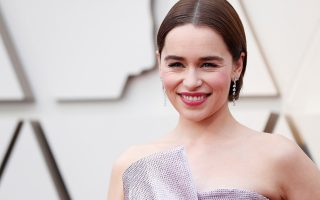 FILE PHOTO: 91st Academy Awards - Oscars Arrivals - Red Carpet - Hollywood, Los Angeles, California, U.S., February 24, 2019.  British actress Emilia Clarke from