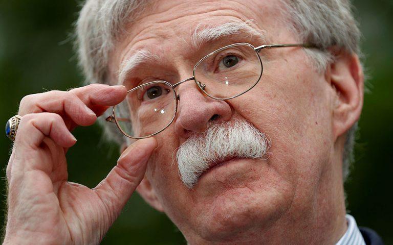 Τζον Μπόλτον: Το Ιράν βρίσκεται πίσω από τις επιθέσεις εναντίον δεξαμενόπλοιων στα Εμιράτα