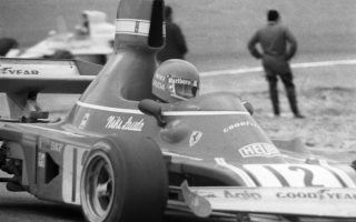 epa07588305 (FILE) - Austrian Formula One driver Niki Lauda steers his Ferrari to win the Grand Prix of Spain at Jarama circuit in San Sebastian de los Reyes, near Madrid, Spain, 27 April 1974 (re-issued 21 May 2019). According to media reports on 21 May 2019, Austrian Formula One legend Niki Lauda died on 20 May 2019 at the age of 70. Lauda won the Formula One championship in 1975, 1977, and 1984 and founded three airlines.  EPA/- B/W ONLY - EDITORIAL USE ONLY/NO SALES/NO ARCHIVES/NO COMMERCIAL USE/ONE TIME USE ONLY RELATED TO CAPTION INFORMATION
