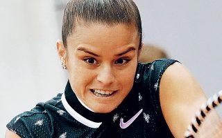 Η Ελληνίδα πρωταθλήτρια πάλεψε για περισσότερες από τρεις ώρες απέναντι στην Τσέχα αντίπαλό της, όμως δεν κατάφερε να πάρει την πρόκριση.