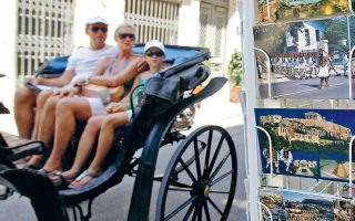 Μεγάλη αύξηση κατά 118,9% παρουσίασαν οι τουριστικές εισπράξεις από τις ΗΠΑ, οι οποίες διαμορφώθηκαν το πρώτο τρίμηνο στα 75,5 εκατομμύρια.