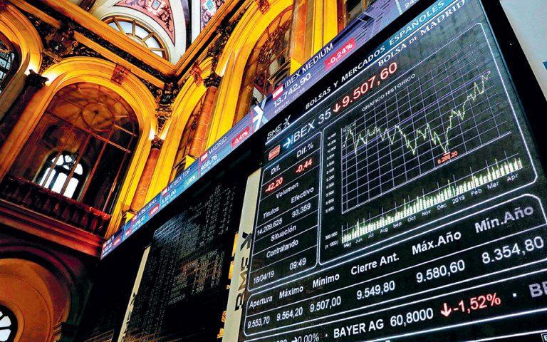 Νευρικότητα στις αγορές λόγω εμπορικού πολέμου