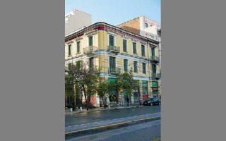 Πατησίων και Πολυτεχνείου 2. Σε αυτό το σπίτι έμεινε ο Γεώργιος Δροσίνης από το 1911 έως το 1938. ΝΙΚΟΣ ΒΑΤΟΠΟΥΛΟΣ