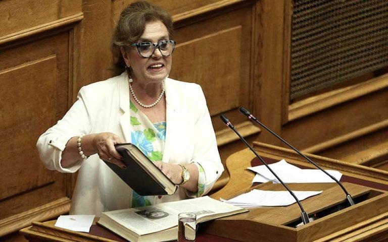 Παραιτήθηκε η Θ. Μεγαλοοικονόμου από την ΚΟ του ΣΥΡΙΖΑ