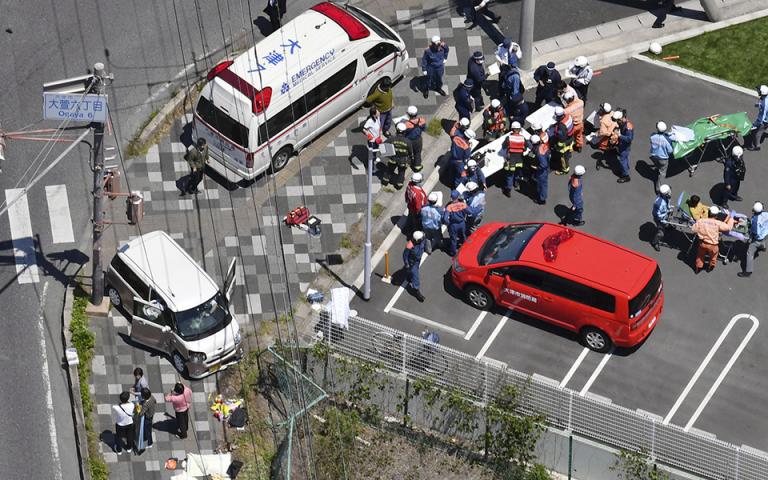 Ιαπωνία: Αυτοκίνητο που ενεπλάκη σε τροχαίο έπεσε πάνω σε νήπια – Δύο παιδιά νεκρά