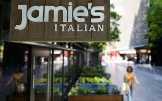 Το λουκέτο στην αλυσίδα εστιατορίων του Τζέιμι Ολιβερ ήταν πρώτο θέμα στα βρετανικά Μέσα. Περισσότεροι από χίλιοι άνθρωποι θα μείνουν άνεργοι.