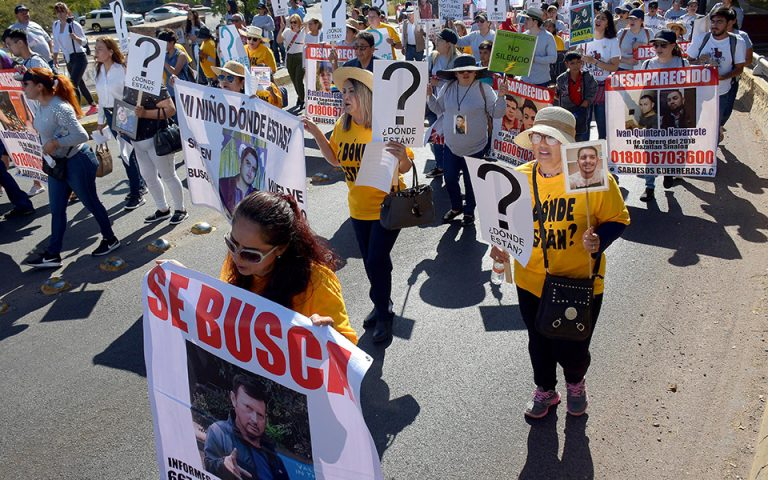 Μεξικό: Μητέρες διαδήλωσαν για τα εξαφανισμένα παιδιά τους (φωτογραφίες – βίντεο)