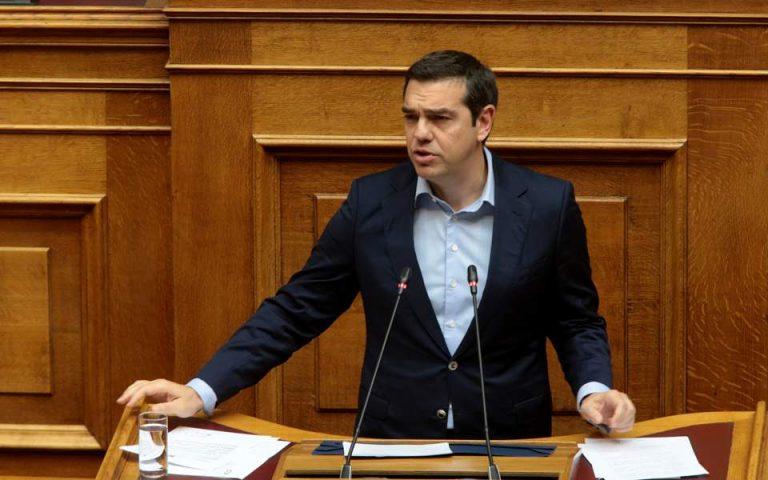 Αλ. Τσίπρας: Μην οδηγήσουμε τη χώρα ξανά σε νεοφιλελεύθερες πολιτικές (βίντεο)
