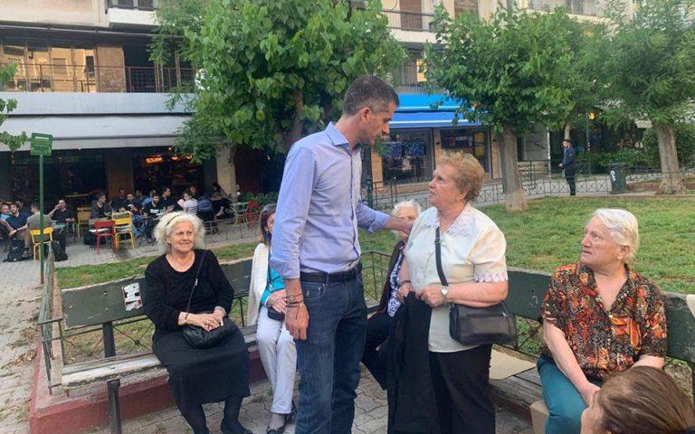Στη Φωκίωνος Νέγρη ο Κώστας Μπακογιάννης : «Η Αθήνα μας χρειάζεται όλους»