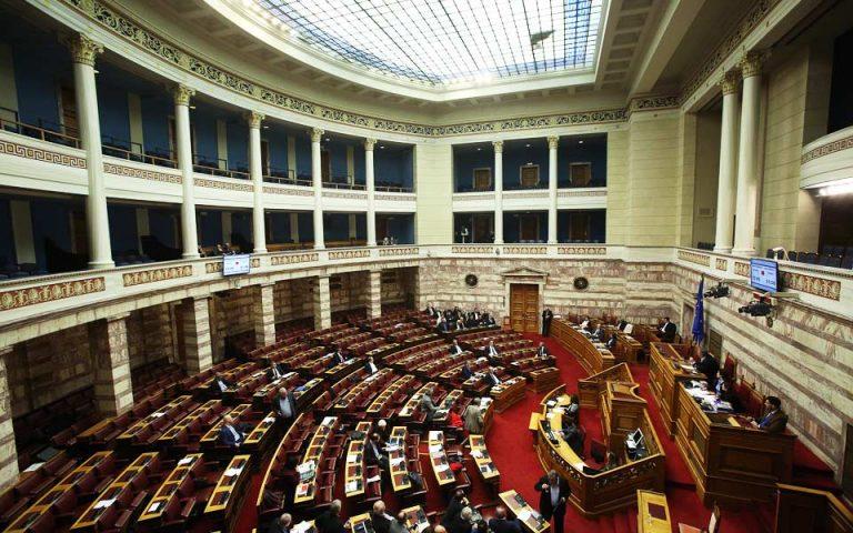 Ηχηρή διάψευση ΣΥΡΙΖΑ μέσω εγγράφων στη Βουλή