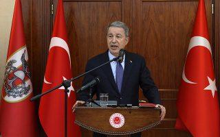 O Τούρκος υπουργός Αμυνας  Χουλουσί Ακάρ είχε κάνει λόγο  για αναβολή παράδοσης των S-400.