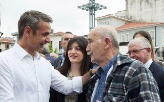 Ο Κυριάκος Μητσοτάκης επισκέφθηκε χθες την Τρίπολη, την Κόρινθο και το Αστρος, στέλνοντας μήνυμα στήριξης στον υποψήφιο περιφερειάρχη Πελοποννήσου Παναγιώτη Νίκα.