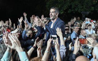 Ενωτικό μήνυμα απηύθυνε μετά τη νίκη στον β΄ γύρο ο Κ. Μπακογιάννης: «Από αύριο υπάρχει μόνο μία δημοτική παράταξη της Αθήνας, όχι δημοτικές παρατάξεις».