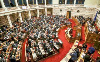 «Βρισκόμαστε σε μια ιδιότυπη κανονικότητα της λειτουργίας του Κοινοβουλίου», είπε ο Νίκος Βούτσης.