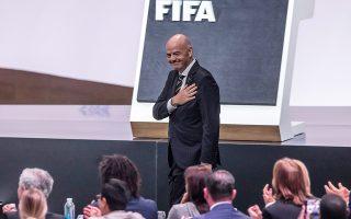 O Ελβετός παράγων επανεξελέγη πρόεδρος της FIFA, τονίζοντας ότι «μια οργάνωση που ελάχιστα απείχε από το να χαρακτηριστεί εγκληματική, επί των ημερών μου έχει μεταμορφωθεί σε αυτό που πρέπει να είναι, μια οντότητα που ευνοεί την ανάπτυξη του ποδοσφαίρου».