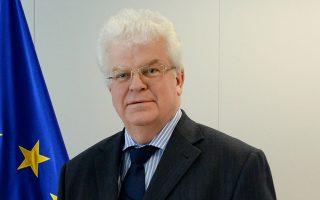 Ο μόνιμος αντιπρόσωπος της Ρωσικής Ομοσπονδίας στην Ε.Ε. κ.Τσιζόφ.