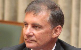 Ο πρύτανης του ΕΚΠΑ, καθηγητής Μ. Α. Δημόπουλος.